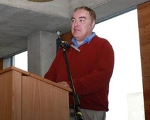 One of the disabled activists: Gary Bourlet