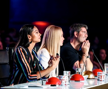 The judging panel on Britain's got Talent