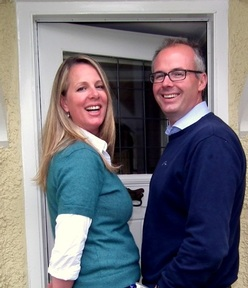 Lucinda and Matthew Kalupka, founders of Home Counties Carers