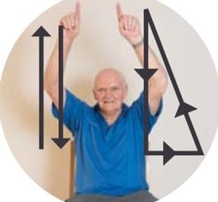 The sticks and triangle move   Credit: British Gymnastics Foundation