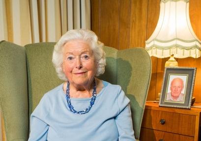 Archer's actress June Spencer. Credit: Alzheimer's Research UK
