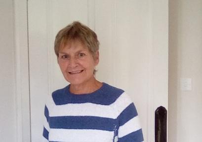 Home library services volunteer, Julia Crichton-Smith