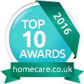 homecare.co.uk Top 10 Home Care Awards 2016