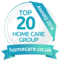homecare top 20 award for 2018